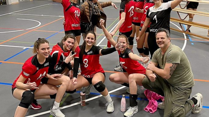 Volley Pizol Gewinnt Trotz Unkonstanter Leistung