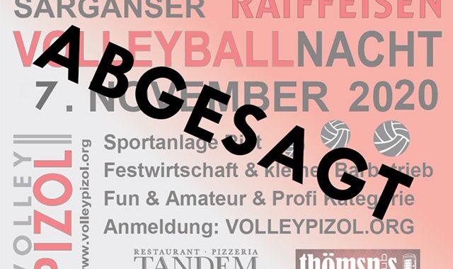 ABGESAGT: Sarganser RAIFFEISEN Volleyballnacht 2020